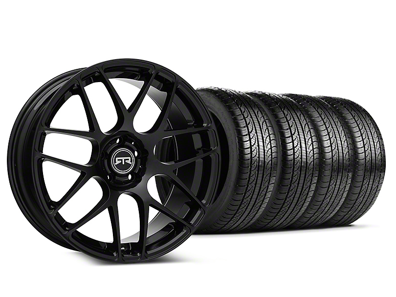 RTR Black Wheel & Pirelli Tire Kit - 19x9.5 (05-14 All)