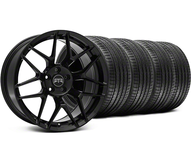 RTR Tech 7 Black Wheel & Sumitomo Tire Kit - 19x9.5 (05-14 All)