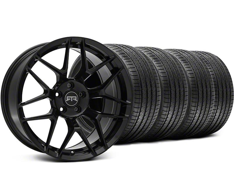 RTR Tech 7 Black Wheel & Sumitomo Tire Kit - 19x9.5 (05-14 All)