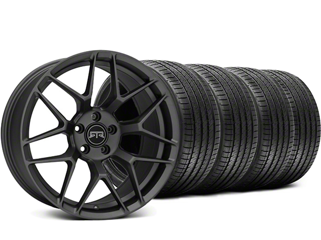 RTR Tech 7 Charcoal Wheel & Sumitomo Tire Kit - 19x9.5 (05-14 All)