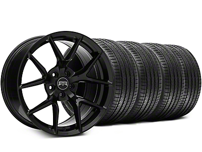 RTR Tech 5 Black Wheel & Sumitomo Tire Kit - 19x9.5 (05-14 All)