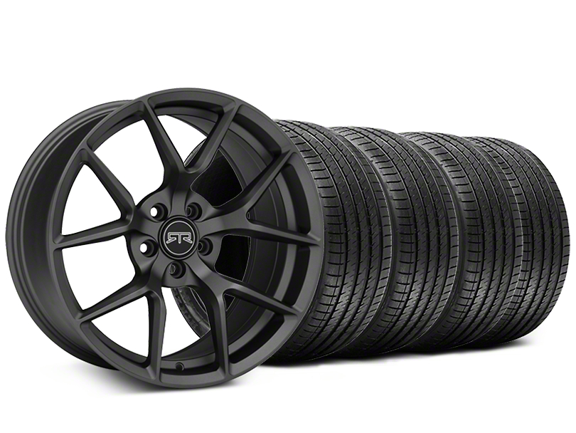 RTR Tech 5 Charcoal Wheel & Sumitomo Tire Kit - 19x9.5 (05-14 All)