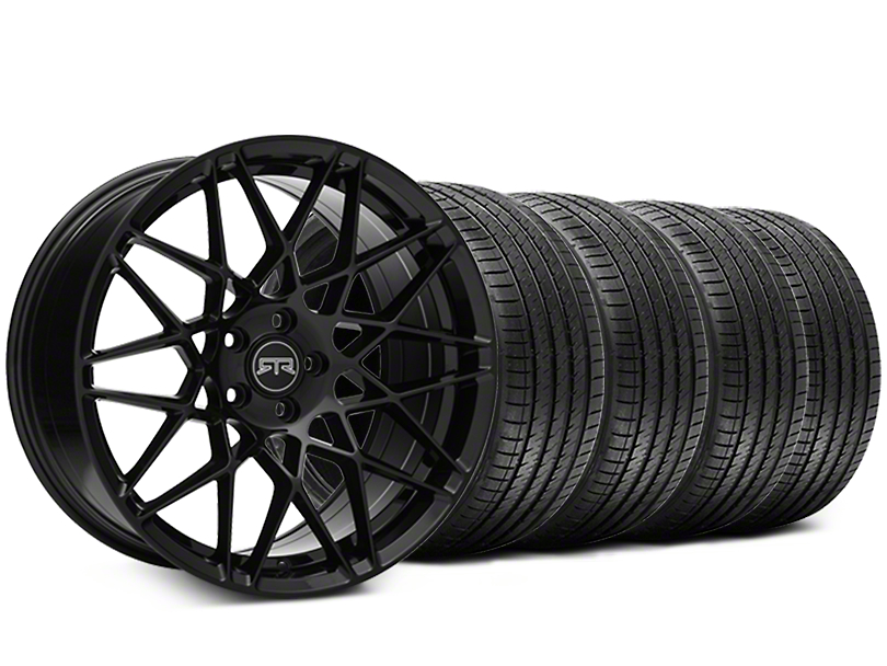 RTR Tech Mesh Black Wheel & Sumitomo Tire Kit - 19x9.5 (05-14 All)