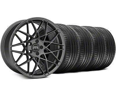 RTR Tech Mesh Charcoal Wheel & Sumitomo Tire Kit - 19x9.5 (05-14 All)