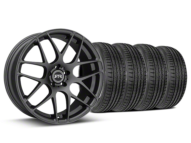RTR Charcoal Wheel & Sumitomo Tire Kit - 19x8.5 (05-14 All)