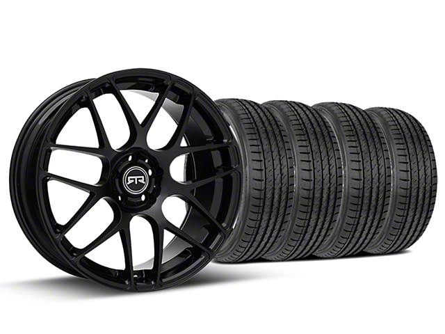 RTR Black Wheel & Sumitomo Tire Kit - 19x8.5 (05-14 All)