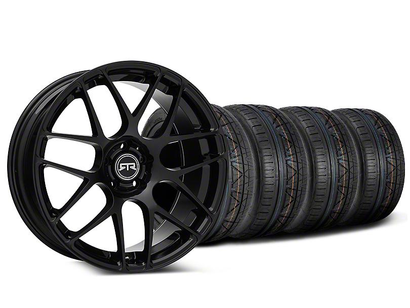 RTR Black Wheel & NITTO INVO Tire Kit - 19x8.5 (05-14 All)