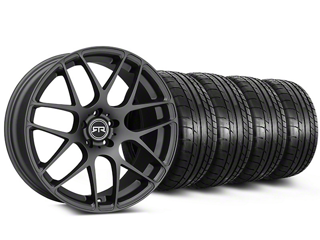 RTR Charcoal Wheel & Mickey Thompson Tire Kit - 19x8.5 (05-14 All)