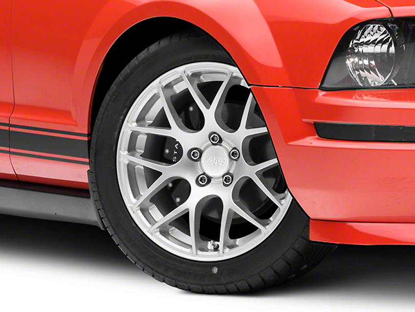 AMR Silver Wheel - 18x9 (05-14 All, Excluding 13-14 GT500)