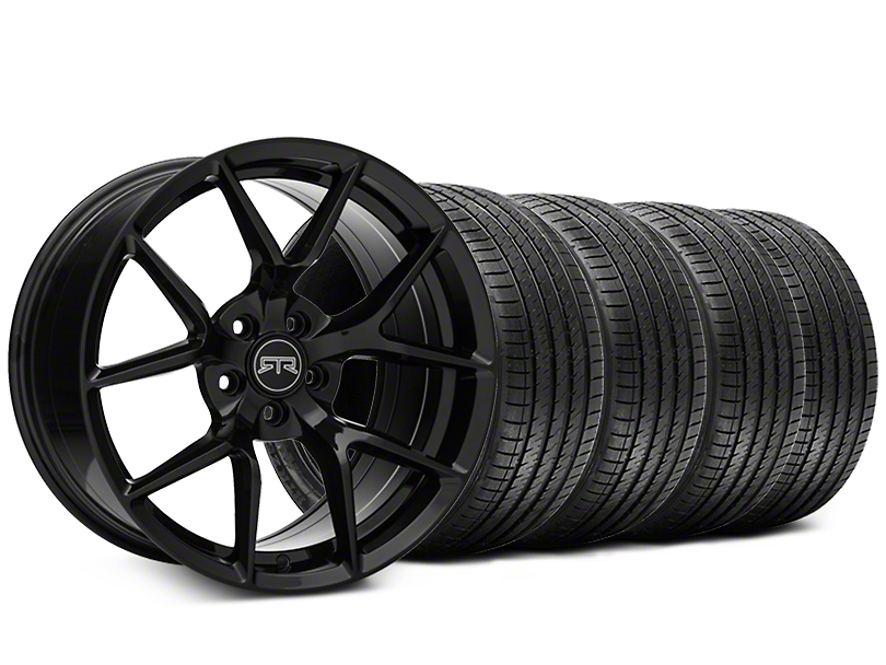 RTR Tech 5 Black Wheel & Sumitomo Tire Kit - 20x9.5 (05-14 All)