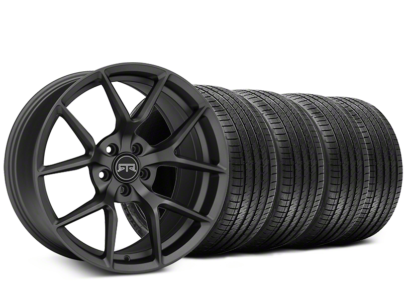 RTR Tech 5 Charcoal Wheel & Sumitomo Tire Kit - 20x9.5 (05-14 All)