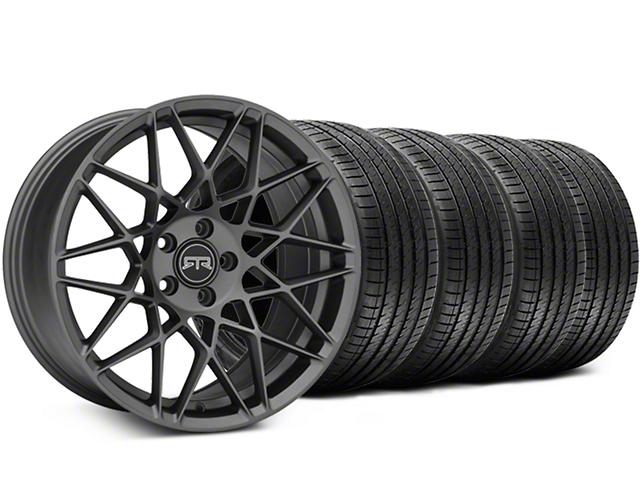 RTR Tech Mesh Charcoal Wheel & Sumitomo Tire Kit - 20x9.5 (05-14 All)