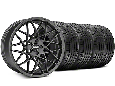 RTR Tech Mesh Charcoal Wheel & Sumitomo Tire Kit - 20x9.5 (05-14 All)