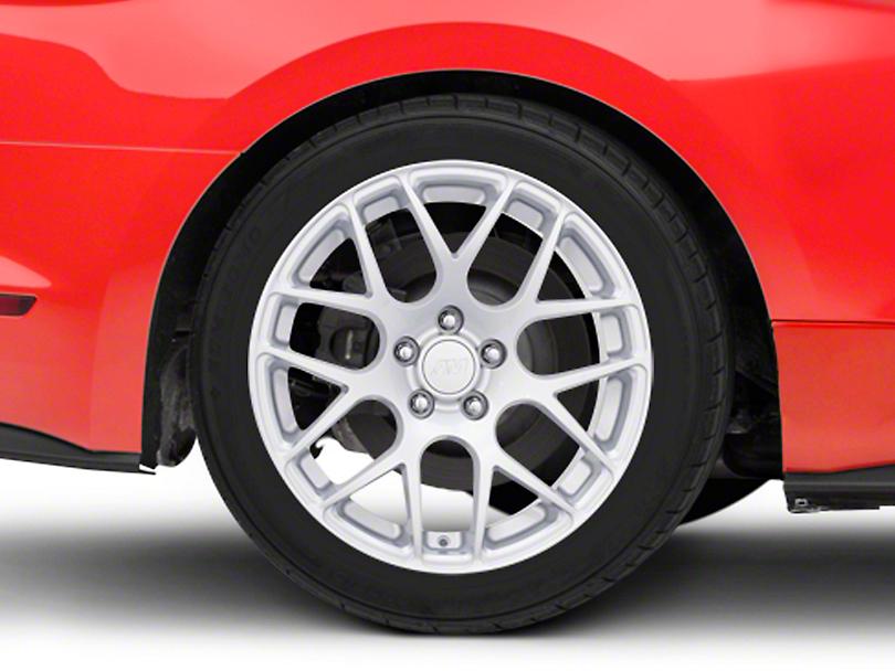 AMR Silver Wheel - 18x10 (15-19 EcoBoost, V6)