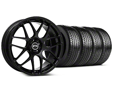 RTR Black Wheel & Pirelli Tire Kit - 19x9.5 (15-17 All)