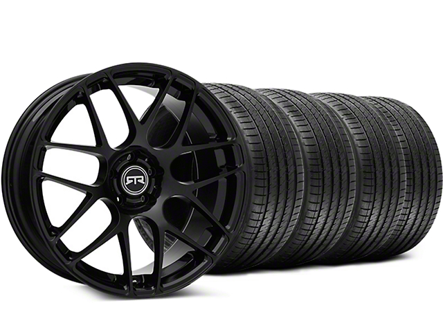 RTR Black Wheel & Sumitomo Tire Kit - 19x9.5 (15-17 All)