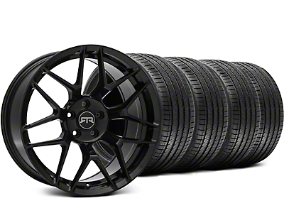 RTR Tech 7 Black Wheel & Sumitomo Tire Kit - 19x9.5 (15-18 GT, EcoBoost, V6)