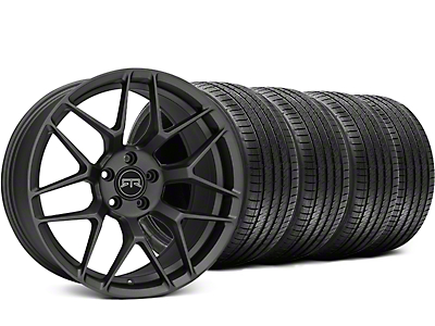 RTR Tech 7 Charcoal Wheel & Sumitomo Tire Kit - 19x9.5 (15-18 GT, EcoBoost, V6)