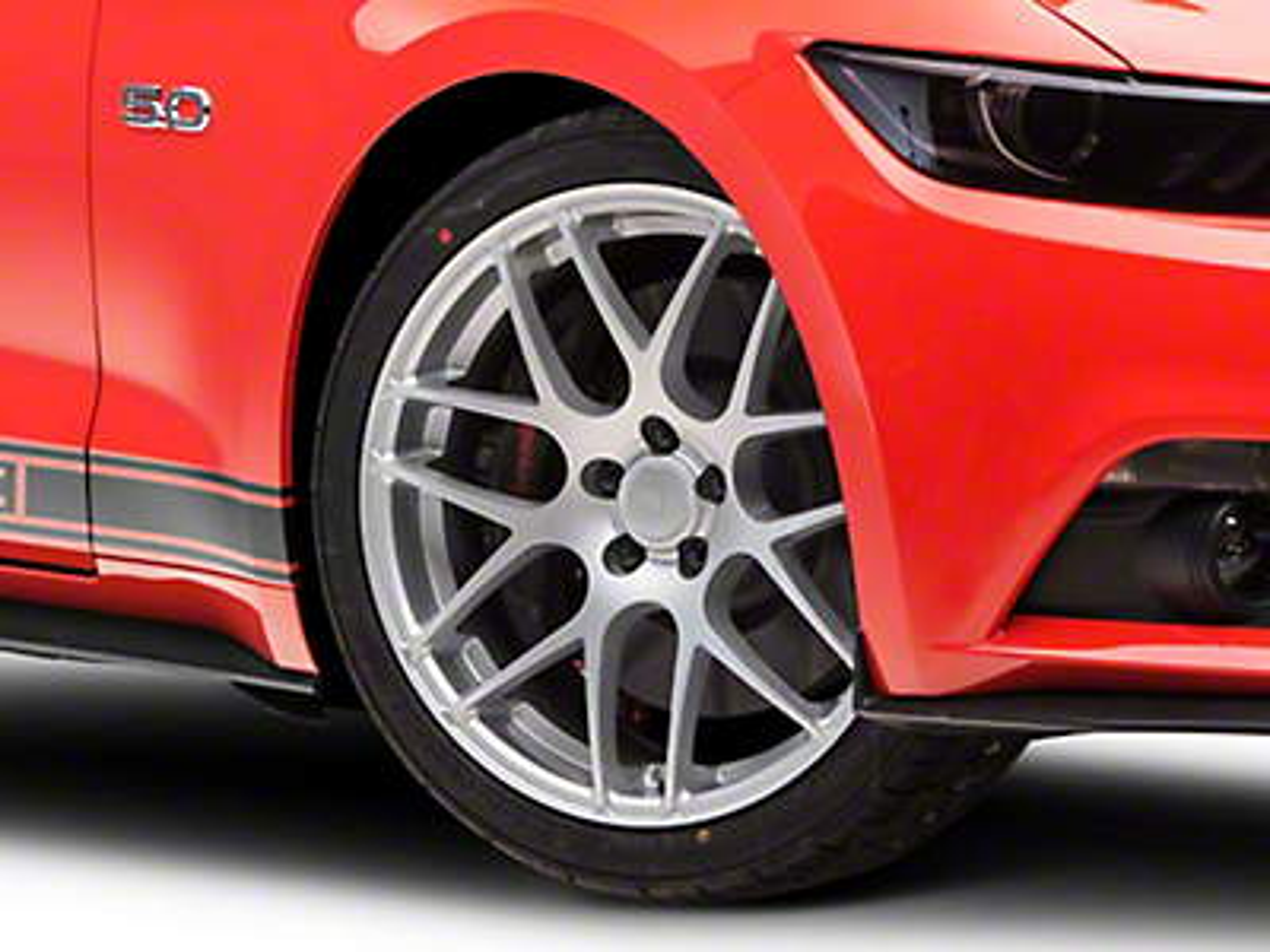 AMR Silver Wheel - 20x8.5 (15-17 All)