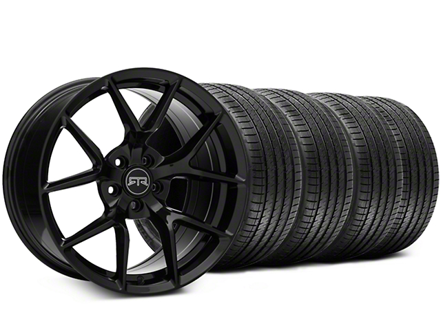 RTR Tech 5 Black Wheel & Sumitomo Tire Kit - 19x9.5 (15-19 GT, EcoBoost, V6)