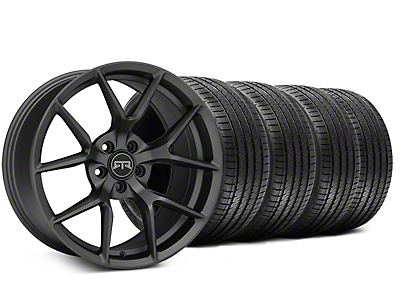 RTR Tech 5 Charcoal Wheel & Sumitomo Tire Kit - 19x9.5 (15-18 GT, EcoBoost, V6)