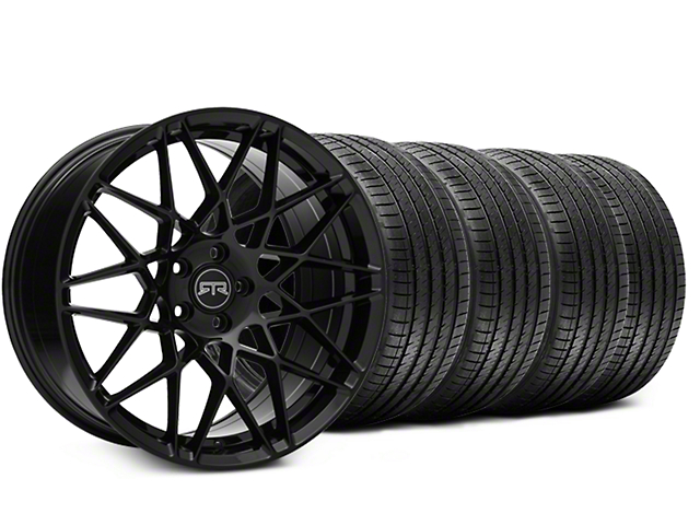 RTR Tech Mesh Black Wheel & Sumitomo Tire Kit - 19x9.5 (15-18 GT, EcoBoost, V6)