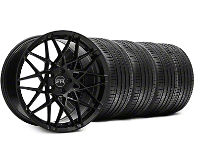 RTR Tech Mesh Black Wheel & Sumitomo Tire Kit - 19x9.5 (15-19 GT, EcoBoost, V6)