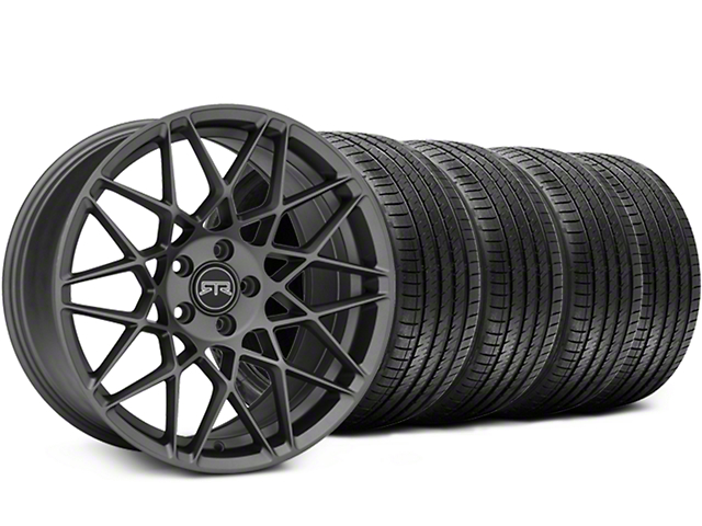 RTR Tech Mesh Charcoal Wheel & Sumitomo Tire Kit - 19x9.5 (15-17 All)