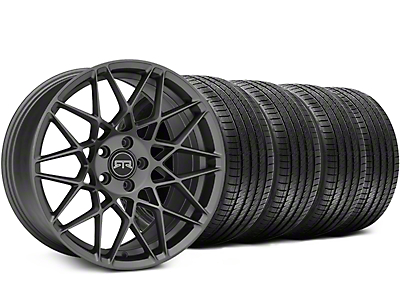 RTR Tech Mesh Charcoal Wheel & Sumitomo Tire Kit - 19x9.5 (15-18 All)