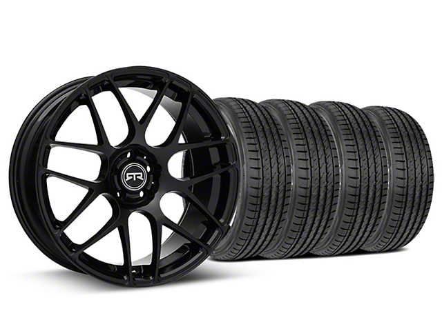 RTR Black Wheel & Sumitomo Tire Kit - 19x8.5 (15-18 All)