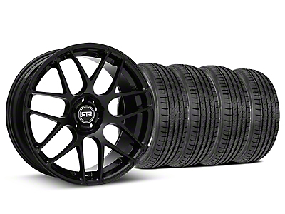 RTR Black Wheel & Sumitomo Tire Kit - 19x8.5 (15-19 GT, EcoBoost, V6)