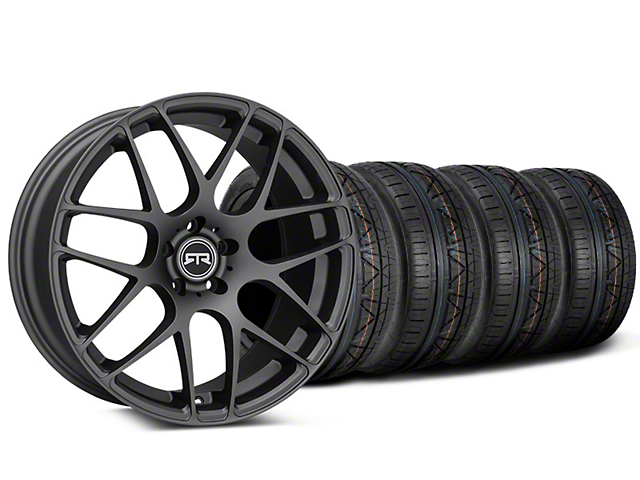 RTR Charcoal Wheel & NITTO INVO Tire Kit - 19x8.5 (15-18 GT, EcoBoost, V6)