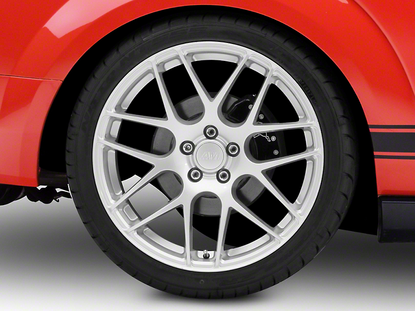 AMR Silver Wheel - 20x10 - Rear Only (05-14 All)