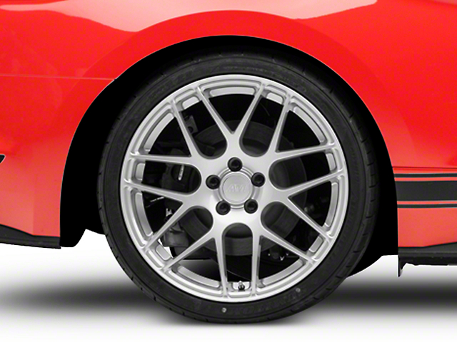 AMR Silver Wheel; Rear Only; 20x10 (15-21 GT, EcoBoost, V6)