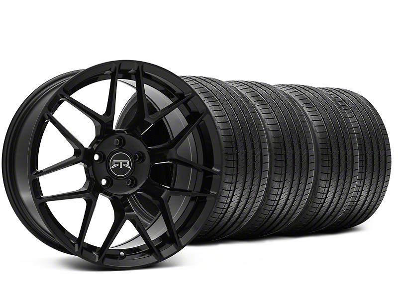 RTR Tech 7 Black Wheel & Sumitomo Tire Kit - 20x9.5 (15-18 GT, EcoBoost, V6)