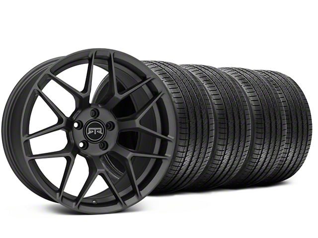 RTR Tech 7 Charcoal Wheel & Sumitomo Tire Kit - 20x9.5 (15-18 All)