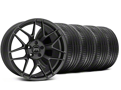 RTR Tech 7 Charcoal Wheel & Sumitomo Tire Kit - 20x9.5 (15-18 GT, EcoBoost, V6)