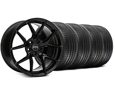 RTR Tech 5 Black Wheel & Sumitomo Tire Kit - 20x9.5 (15-17 All)