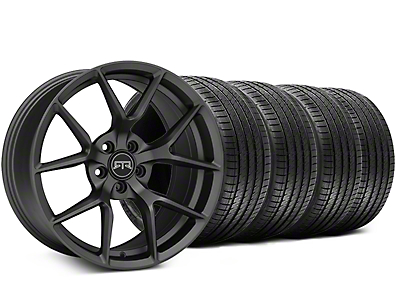 RTR Tech 5 Charcoal Wheel & Sumitomo Tire Kit - 20x9.5 (15-18 GT, EcoBoost, V6)