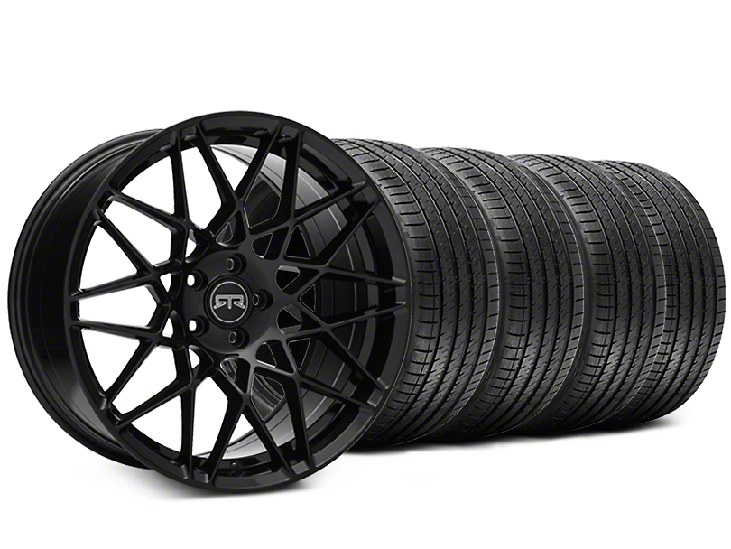RTR Tech Mesh Black Wheel & Sumitomo Tire Kit - 20x9.5 (15-19 GT, EcoBoost, V6)