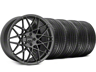 RTR Tech Mesh Charcoal Wheel & Sumitomo Tire Kit - 20x9.5 (15-18 GT, EcoBoost, V6)