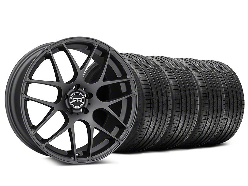 Staggered RTR Charcoal Wheel & Sumitomo Tire Kit - 20x9/10 (05-14 All)
