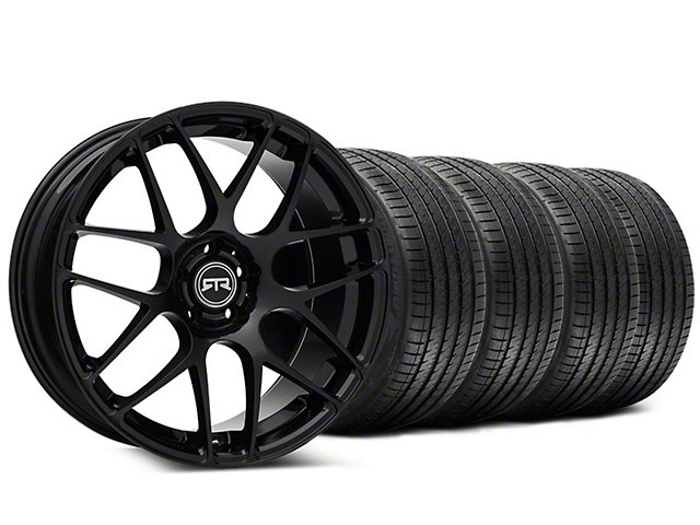 Staggered RTR Black Wheel & Sumitomo Tire Kit - 20x9/10 (05-14 All)