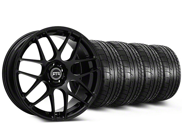 Staggered RTR Black Wheel & Mickey Thompson Tire Kit - 20x9/10 (05-14 All)