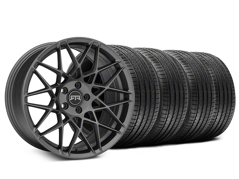 Staggered RTR Tech Mesh Charcoal Wheel & Sumitomo Tire Kit - 20x9.5/10.5 (05-14 All)