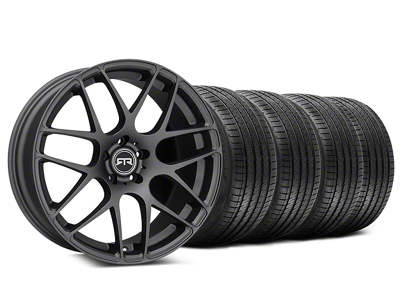 Staggered RTR Charcoal Wheel & Sumitomo Tire Kit - 20x9/10 (15-18 GT, EcoBoost, V6)