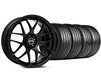 Staggered RTR Black Wheel & Sumitomo Tire Kit - 20x9/10 (15-19 GT, EcoBoost, V6)