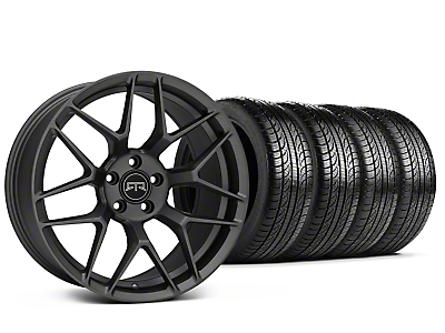 Staggered RTR Tech 7 Charcoal Wheel & Pirelli Tire Kit - 19x9.5/10.5 (15-18 All)