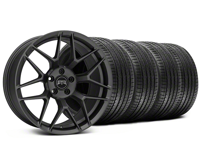 Staggered RTR Tech 7 Charcoal Wheel & Sumitomo Tire Kit - 20x9.5/10.5 (15-18 All)
