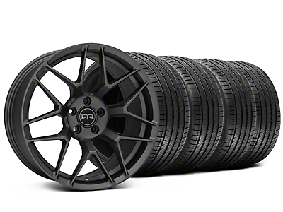 Staggered RTR Tech 7 Charcoal Wheel & Sumitomo Tire Kit - 20x9.5/10.5 (15-19 All)
